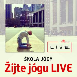Žijte jógu - LIVE (online kurz)